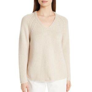 Eileen Fisher Women's V-Neck Cashmere Sweater M